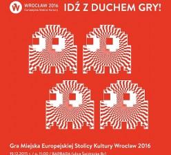 Gra Miejska ESK Wroclaw 2016 - Plakat
