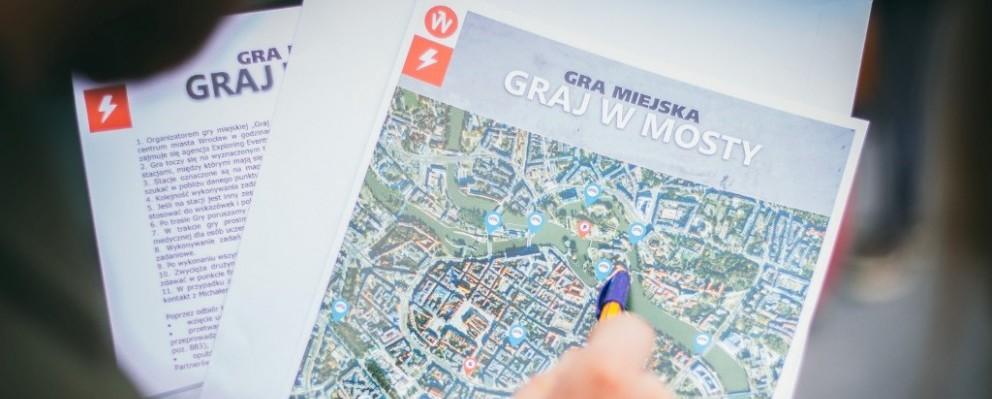 Gra Miejska Mosty Wrocław 1