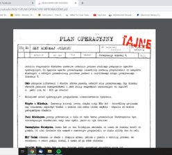 Materiał z kryminalnej gry fabularnej online
